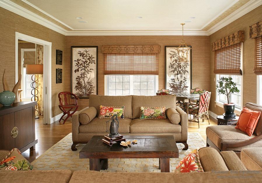 Бамбуковые обои: тенденция современной моды