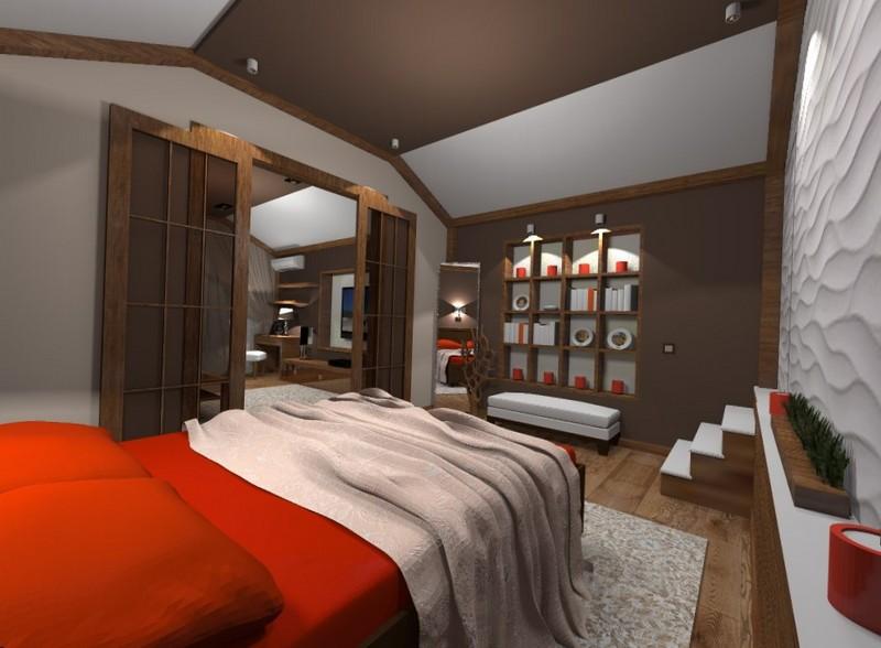 Дизайн спальни, интерьер спальни