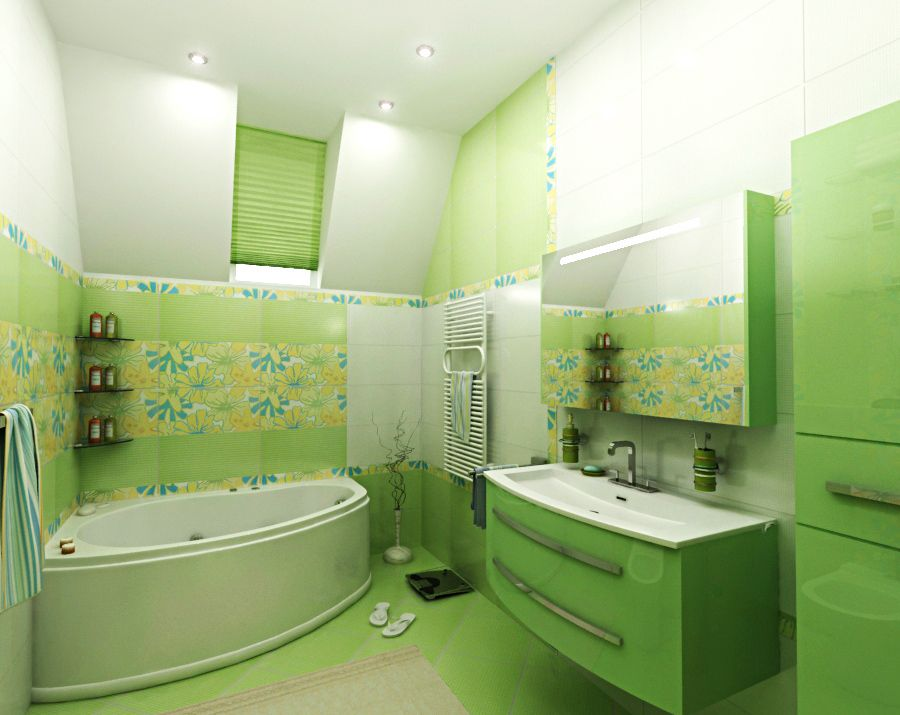 Интерьер и дизайн современной ванной комнаты