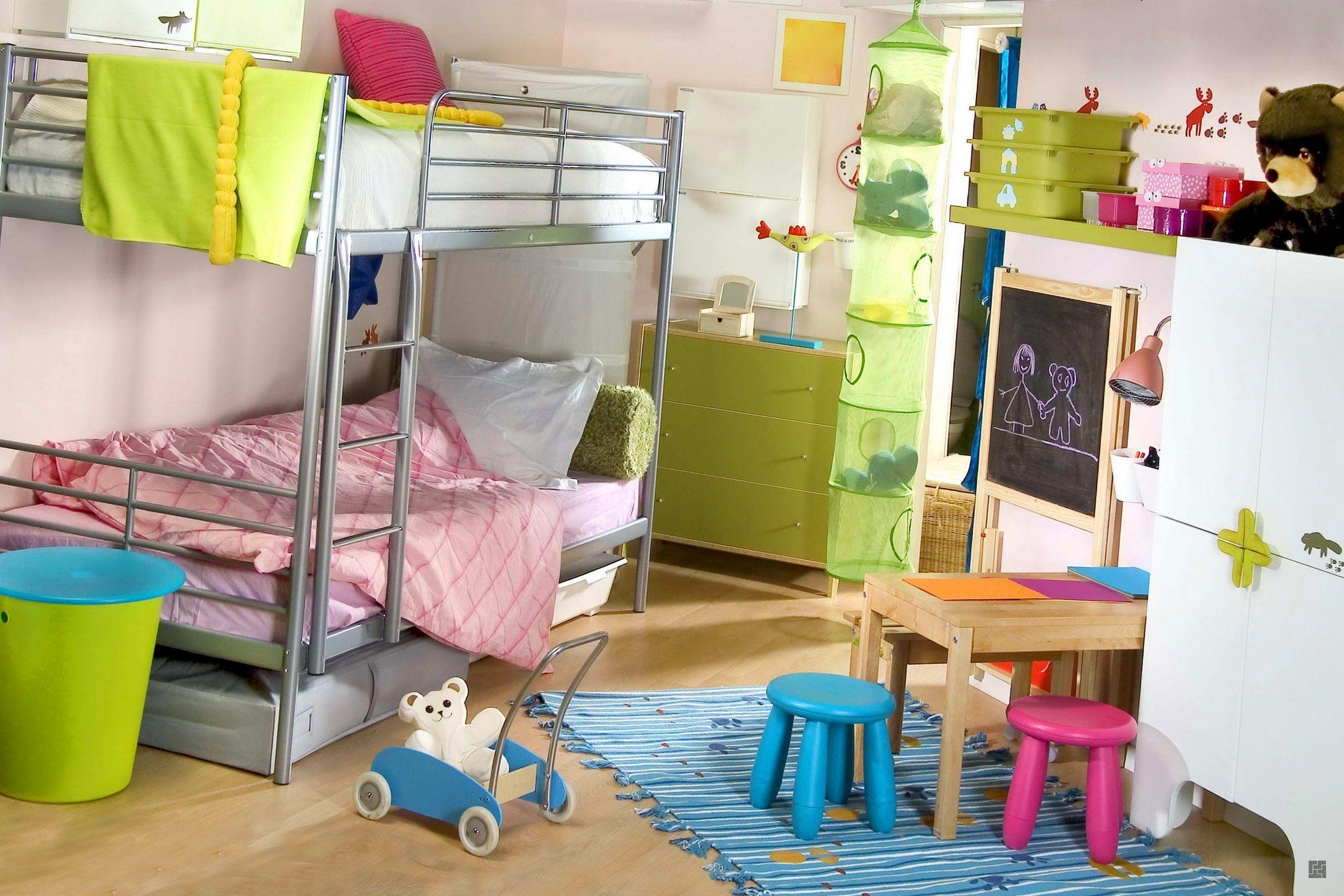 Как правильно подобрать цветовое оформление для детской спальни