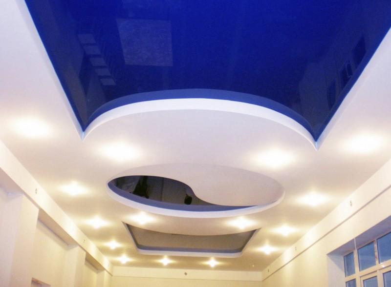 Какой выбрать натяжной потолок