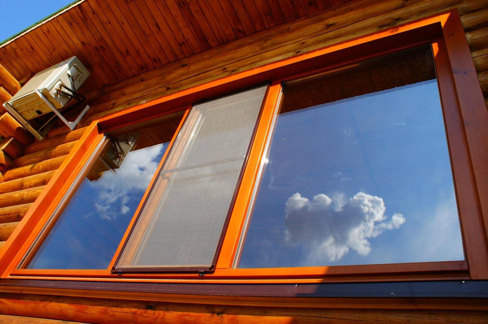 Ремонт деревянных окон со стеклопакетами